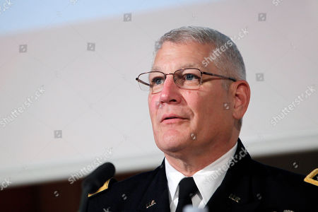 The head of the U.S. Africa Command, General Carter Ham, attends to a debate in the University of Sciences Politiques, in Paris, . Some of the culprits in an attack on the U.S. consulate in Benghazi, Libya, had links to al-Qaida's North Africa arm, a top U.S. military official said Wednesday, adding that it remained unclear if the terror network led or organized the deadly assault whose victims included an American ambassador. Al-Qaida links had been suspected in the attack on Sept. 11, but not publicly detailed, and an investigation is underway. U.S. Ambassador to Libya Chris Stevens and three others were killed. The assault occurred around the same time that protests erupted in Muslim countries over an anti-Islam film made in the United States. Gen. Carter Ham, the head of the U.S. military's Africa Command, said some of the attackers had ties to Al-Qaida in the Islamic Maghreb, which was built on the remains of a former Algerian militant group