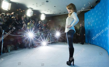 Fallon Goodson Actress Fallon Goodson poses at the photo call for the film Maladies at the 63rd edition of the Berlinale, International Film Festival in Berlin