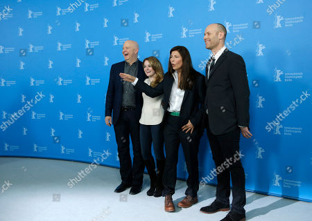 Jeff Most, Fallon Goodson, Catherine Keener, Carter From left producer Jeff Most, actresses Fallon Goodson, Catherine Keener and director Carter pose at the photo call for the film Maladies at the 63rd edition of the Berlinale, International Film Festival in Berlin