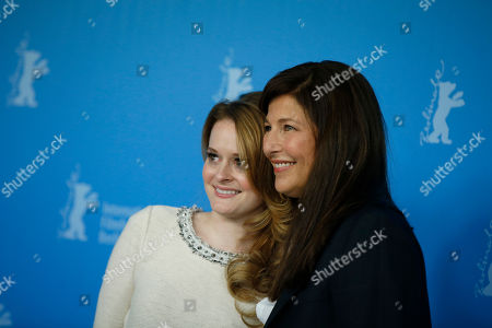 Fallon Goodson, Catherine Keener Actresses Catherine Keener, right, and Fallon Goodson pose at the photo call for the film Maladies at the 63rd edition of the Berlinale, International Film Festival in Berlin