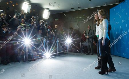 Fallon Goodson, Catherine Keener Actresses Catherine Keener, left, and Fallon Goodson pose at the photo call for the film Maladies at the 63rd edition of the Berlinale, International Film Festival in Berlin