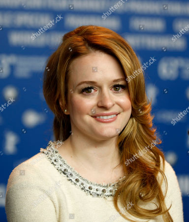Fallon Goodson Actress Fallon Goodson poses at the press conference of the film Maladies at the 63rd edition of the Berlinale, International Film Festival in Berlin, Germany