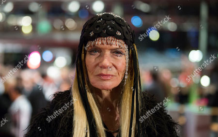 Veruschka countess of Lehndorff arrives for the opening ceremony at the 63rd edition of the Berlinale, International Film Festival in Berlin, Germany