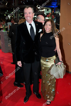 US ambassador to Germany Philip D. Murphy, left, and his wife Tammy arrive for the opening ceremony at the 63rd edition of the Berlinale, International Film Festival in Berlin, Germany