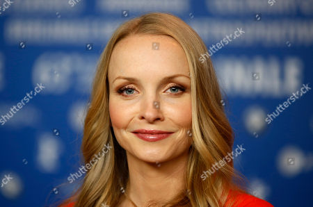 Janin Reinhardt Actress Janin Reinhardt attends the press conference for the film The Croods at the 63rd edition of the Berlinale, International Film Festival in Berlin, Germany