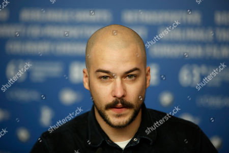 Marc Andre Grondin Marc Andre Grondin at the press conference for the film Vic And Flo Saw A Bear at the 63rd edition of the Berlinale, International Film Festival in Berlin