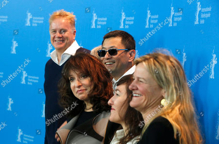 Tim Robbins, Susanne Bier, Wong Kar Wai, Athina Rachel Tsangari, Ellen Kuras From left jury members Tim Robbins, Susanne Bier, jury president Wong Kar Wai, Athina Rachel Tsangari and Ellen Kuras pose at the photo call during the jury press conference at the 63rd edition of the Berlinale, International Film Festival in Berlin, Germany