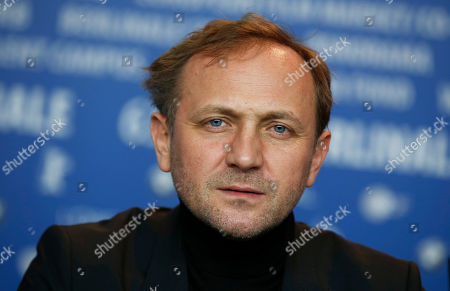 Actor Andrzej Chyra poses at the news conference for the film In The Name Of at the 63rd edition of the Berlinale, International Film Festival in Berlin, Germany