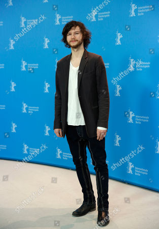Actor Mateusz Kosciukiewicz poses at the photo call for the film In The Name Of at the 63rd edition of the Berlinale, International Film Festival in Berlin, Germany