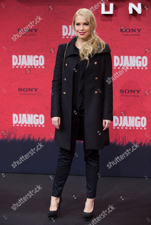 "Lara-Isabelle Rentinck Lara-Isabelle Rentinck arrives for the German premiere of the movie ""Django Unchained"" in Berlin, Germany"