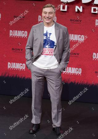 """Werner Daehn German actor Werner Daehn arrives for the German premiere of the movie """"Django Unchained"""" in Berlin, Germany"""