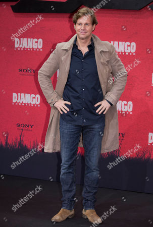 "Thomas Heinze Thomas Heinze arrives for the German premiere of the movie ""Django Unchained"" in Berlin, Germany"