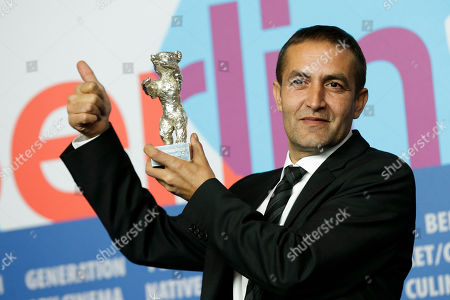 Actor Nazif Mujic Actor Nazif Mujic with his Silver Bear Best Actor award for his role in An Episode In the Life of an Iron Picker attends a press conference after the closing ceremony at the 63rd edition of the Berlinale, International Film Festival in Berlin
