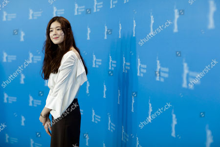Jung Eun-chae Actress Jung Eun-chae poses during the photo call of the film 'Nobody's Daughter Haewon' ( Nugu-Ui Ttal-Do Anin Haewon) at the 63rd edition of the Berlinale, International Film Festival in Berlin