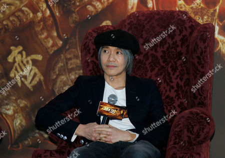 """Stephen Chow Hong Kong director Stephen Chow attends a press conference for his new film """"A Chinese Odyssey"""" in Hong Kong"""