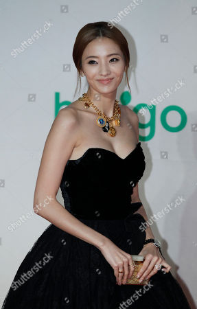 Han Chae-young South Korean actress Han Chae-young poses for photographers on the red carpet of the Mnet Asian Music Awards (MAMA) in Hong Kong . The MAMA is one of the major K-pop music award ceremonies