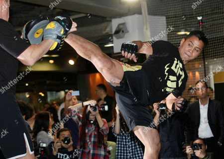 Cung Le Former Strikeforce middleweight champion Cung Le, a Vietnamese-American, demonstrates his skill during the pre-fight press conference to promote the Ultimate Fighting Championship UFC in Hong Kong . The Ultimate Fighting Championship will take place in the Venetian Macao in Macau Saturday, Nov. 10