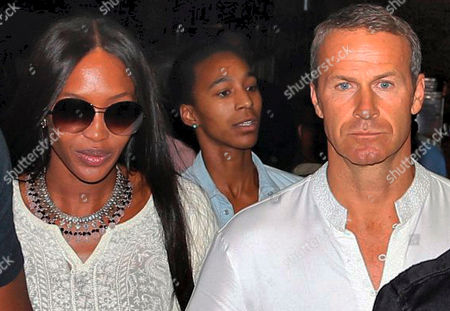 Naomi Campbell Supermodel Naomi Campbell walks with her boyfriend Russian billionaire Vladimir Doronin as they leave after his birthday celebrations in Jodhpur, in the western Indian state of Rajasthan. The supermodel's spokeswoman, Debi Zornes, says the celebration of Doronin's 50th birthday kicked off in the 15th century Mehrangarh Fort in the city of Jodhpur on Tuesday night. The festivities included fireworks, traditional music and dancing and an elaborate buffet meal