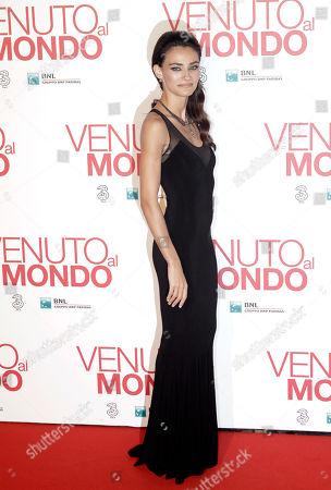 Editorial image of Italy Movie Twice Born, Rome, Italy