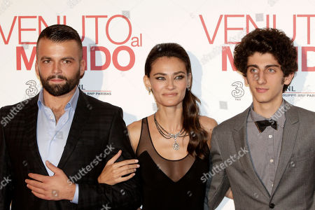 Editorial picture of Italy Movie Twice Born, Rome, Italy