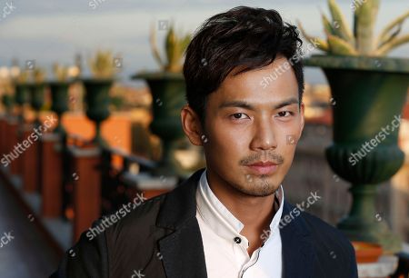 Wallace Chung Actor Wallace Chung poses for portraits at the 7th edition of the Rome International Film Festival in Rome