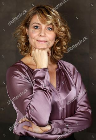 Stock Image of Anne Louise Hassing Actress Anne Louise Hassing poses for portraits at the 7th edition of the Rome International Film Festival in Rome