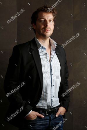 Stock Image of Ramsey Nasr Author and actor Ramsey Nasr poses for portraits at the 7th edition of the Rome International Film Festival in Rome