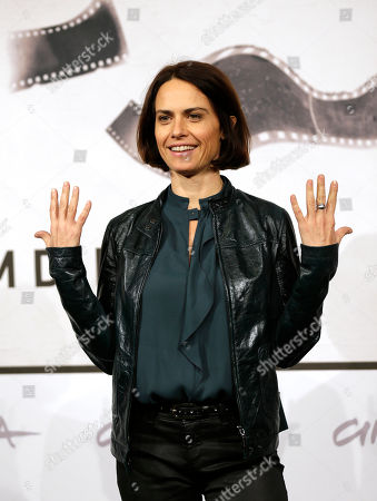 """Stock Picture of Alina Marazzi Director Alina Marazzi poses to present the movie """"Tutto parla di te"""" at the 7th edition of the Rome International Film Festival in Rome"""