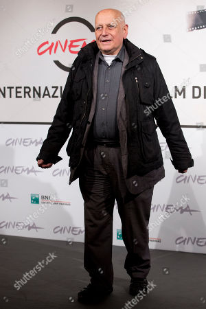 Edgardo Cozarinsky Director and member of the Rome Film Festival Official jury, Edgardo Cozarinsky, poses during a photo call at the Rome Film Festival, in Rome