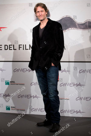 """Michael Laurence Actor Michael Laurence poses during the photo call of the movie """"A Walk in the Park"""" at the Rome Film Festival, in Rome"""