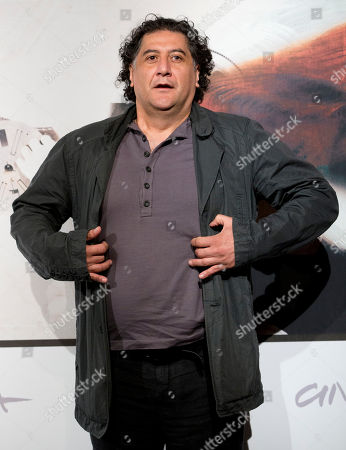 "Bakhtiar Khudojnazarov Director Bakhtiar Khudojnazarov poses during the photo call of the movie ""Waiting for the Sea"", presented at the Rome Film Festival, in Rome"