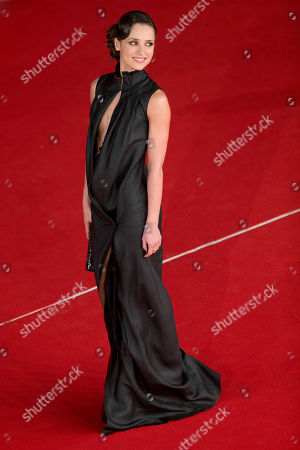 Actress Anastasia Mikulchina arrives to attend the opening ceremony of the Rome Film Festival, in Rome