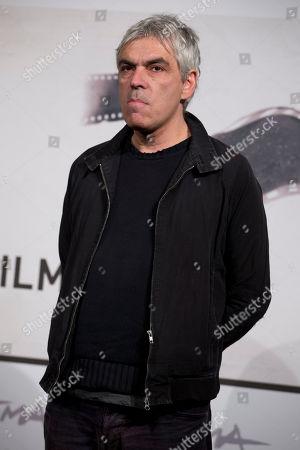 "Pedro Costa Director Pedro Costa poses during the photo call of the movie ""Centro Historico"", presented at the Rome Film Festival, in Rome"