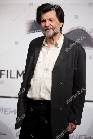 """Victor Erice Director Victor Erice poses during the photo call of the movie """"Centro Historico"""", presented at the Rome Film Festival, in Rome"""