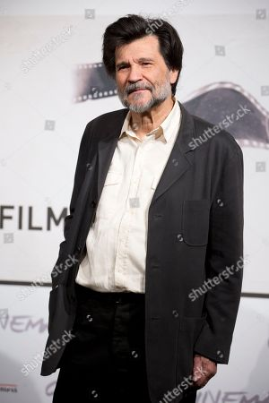 """Director Victor Erice poses during the photo call of the movie """"Centro Historico"""" at the Rome Film Festival, in Rome"""