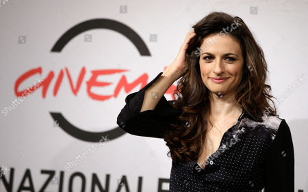 """Anita Kravos Actress Anita Kravos poses during the photo call of the movie """"E la chiamano estate"""" (And They Call it Summer) at the 7th edition of the Rome International Film Festival in Rome, Wdnesday"""