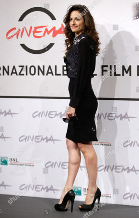 """Anita Kravos Actress Anita Kravos poses during the photo call of the movie """"E la chiamano estate"""" (And They Call it Summer) at the 7th edition of the Rome International Film Festival in Rome"""