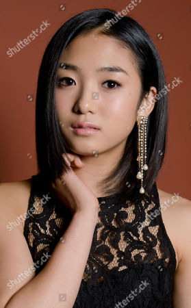 Erina Mizuno Actress Erina Mizuno poses for portraits during the 7th edition of the Rome International Film Festival in Rome