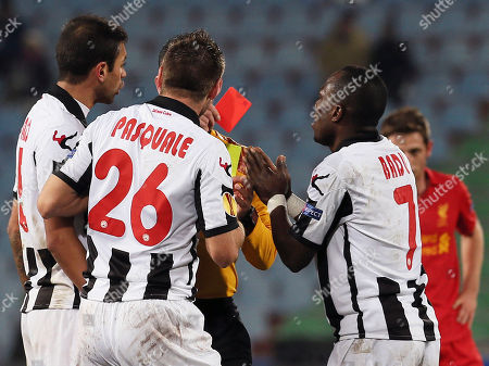 Editorial picture of Italy Soccer Europa League, Udine, Italy
