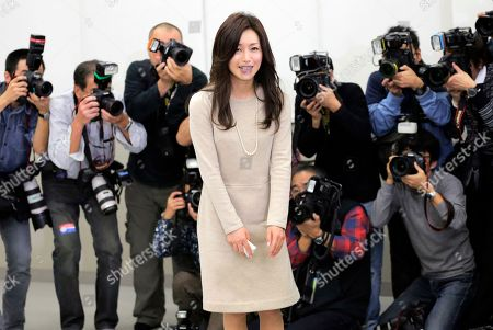 Noriko Sakai Japanese singer and actress Noriko Sakai, center, smiles to the media after her news conference in Tokyo as she came back to the entertainment industry, a day after she finished her three years on parole. Sakai, once hugely popular in Asia, was convicted of drug use in 2009
