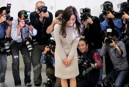 Editorial image of Japan Actress, Tokyo, Japan