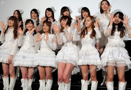 Editorial image of Japan AKB48, Tokyo, Japan