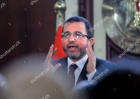 Stock Photo of Hesham Kandil Egyptian Prime Minister Hesham Kandil talks during a press conference in Cairo, Egypt, . Kandil says his country will resume talks in January with the International Monetary Fund over a $4.8 billion loan, after they were suspended during this month's political turmoil over the now-adopted constitution