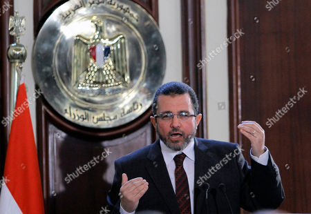 Hesham Kandil Egyptian Prime Minister Hesham Kandil speaks during a press conference in the prime minister's office, Cairo, Egypt, . Kandil says his country will resume talks in January with the International Monetary Fund over a $4.8 billion loan, after they were suspended during this month's political turmoil over the now-adopted constitution