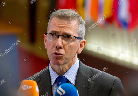 Bernardino Leon European Union Special Representative for the Southern Mediterranean Bernardino Leon speaks with the media, after a meeting of ambassadors of the 28 EU member nations, in Brussels. On, a series of nearby explosions prematurely ended a meeting between Libya's Prime Minister Abdullah al-Thinni and the U.N. top envoy to the country, Bernardino Leon, in the eastern Libyan city of Bayda. No one was wounded and Leon, who had planned to travel to other cities on his visit, left immediately after the blasts for the airport