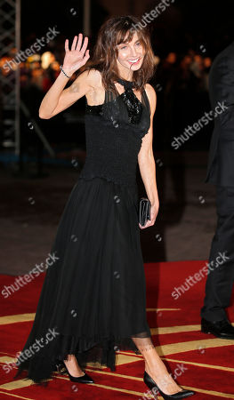 French actress Anne Parillaud arrives at the Marrakech International Film Festival in Marrakech, Saturday, Dec.1, 2012 at the Marrakech Congress Palace. The Film Festival take place until Dec.8