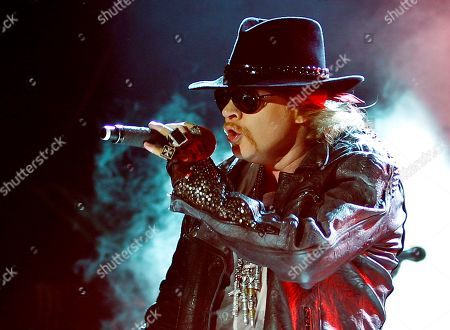 Axl Rose Axl Rose, lead vocalist of Guns N' Roses performing during their concert in Bangalore, India. Rose will receive the Ronnie James Dio Lifetime Achievement Award at the Revolver Golden Gods Awards for hard rock on April 23 at the Club Nokia in Los Angeles