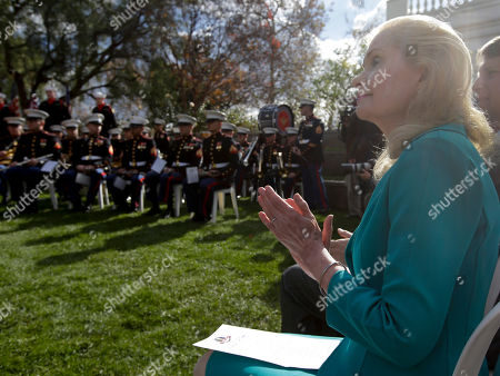Tricia Nixon Cox daughter of the 37th U.S. President Richard M. Nixon watches during a commemoration of the 100th anniversary of the birth of Richard Nixon at the Richard Nixon Presidential Library in Yorba Linda, Calif