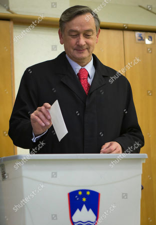 Danilo Turk Slovenia incumbent president Danilo Turk casts his ballot at a polling station in Ljubljana, Slovenia, . Small, crisis-hit EU member Slovenia is choosing a president in an atmosphere of uncertainty and growing discontent with cost-cutting measures designed to avoid an international bailout