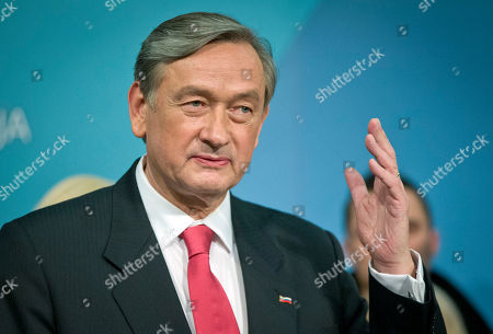 Danilo Turk Outgoing Slovenia's president Danilo Turk talks to the media in Ljubljana, Slovenia, . Turk was defeated by former prime minister Borut Pahor, who has called for unity in the tiny EU nation amid growing discontent with government tax hikes and spending cuts